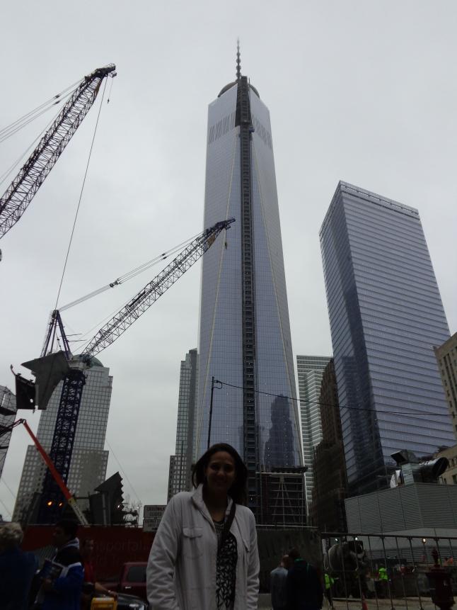 Obras do WTC Memorial a todo vapor em 10/2013.