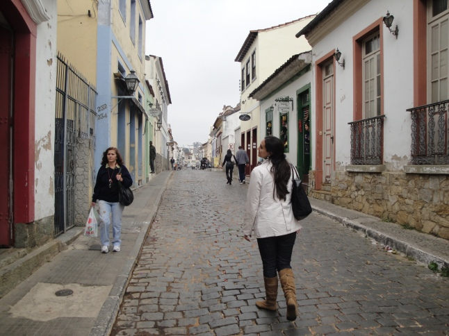 Pelas ruelas de São João del Rei