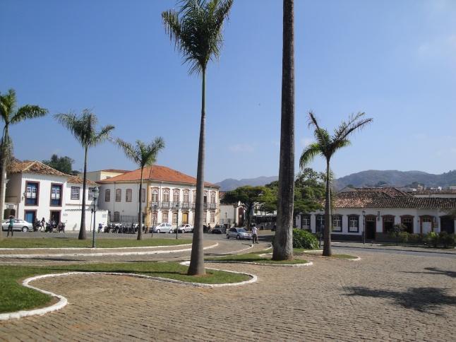 O centro histórico de São João del Rei