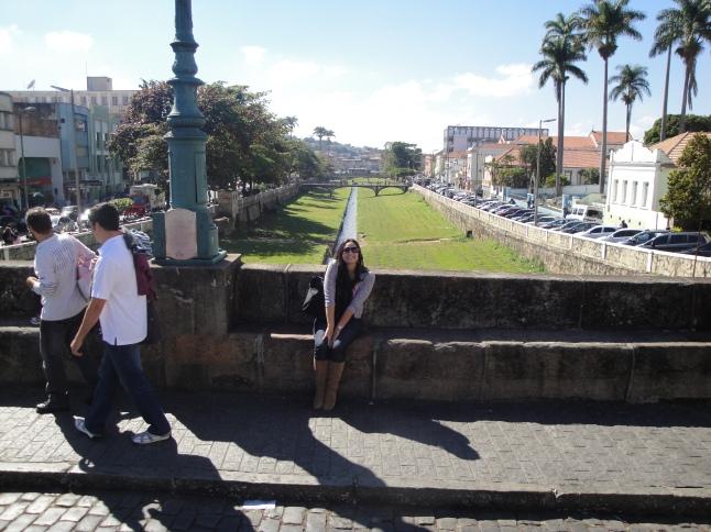 Na ponte de São João del Rei