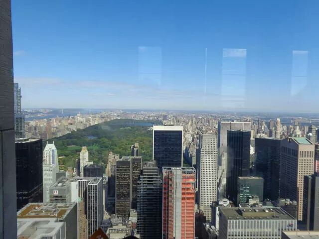 Central Park visto do Top of the Rock!