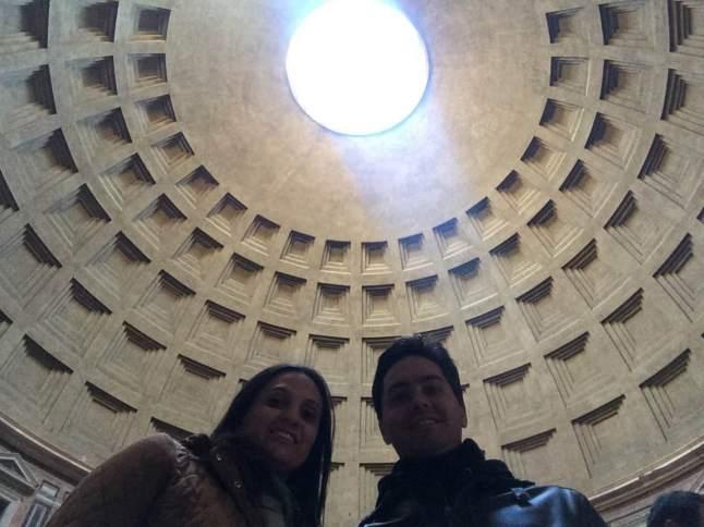 A cúpula aberta!
