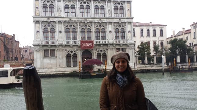 Na nossa chegada a Veneza..