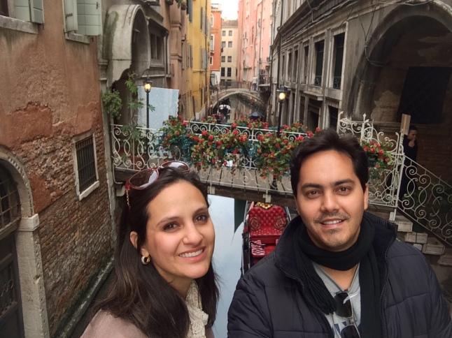 Um cantinho qualquer lindo de Veneza..