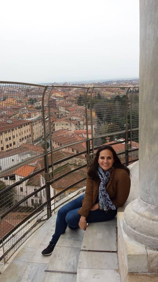 A vista da torre!