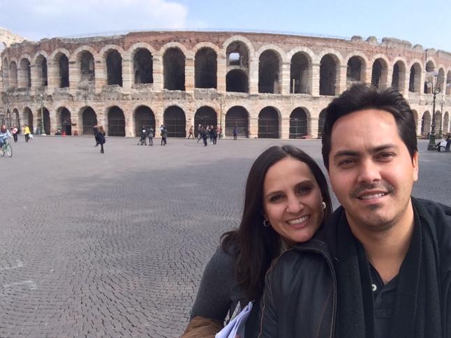 A arena de Verona!
