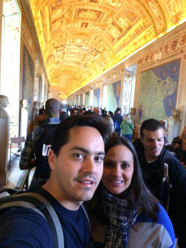 Museu do vaticano, a caminho da Capela Sistina..