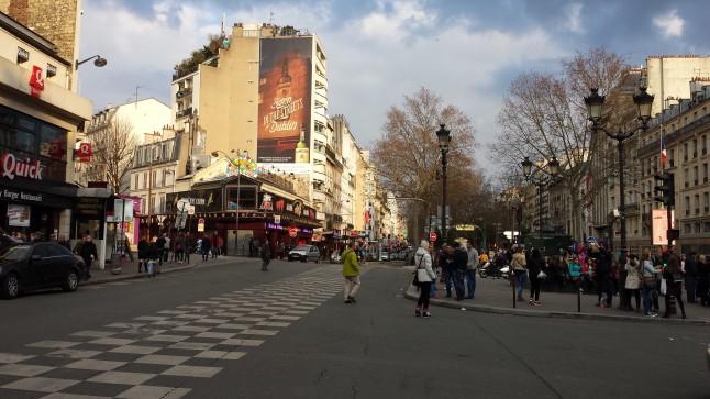 Montmartre, bem agitado!